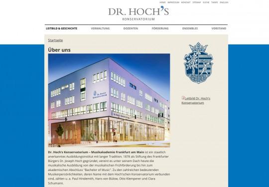 Dr. Hochs Konservatorium