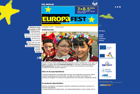 Europafest im FEZ