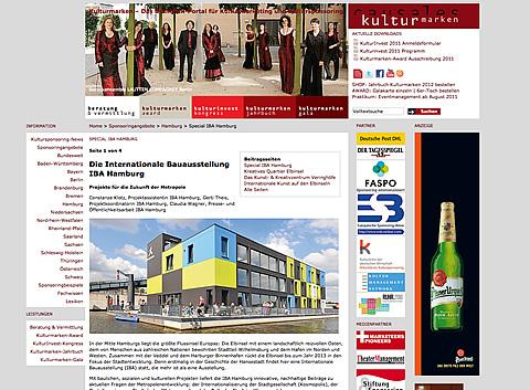 Kulturmarken Spezial IBA Hamburg