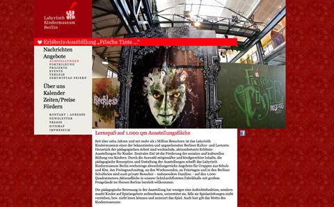 Labyrinth Erlebnisausstellungen