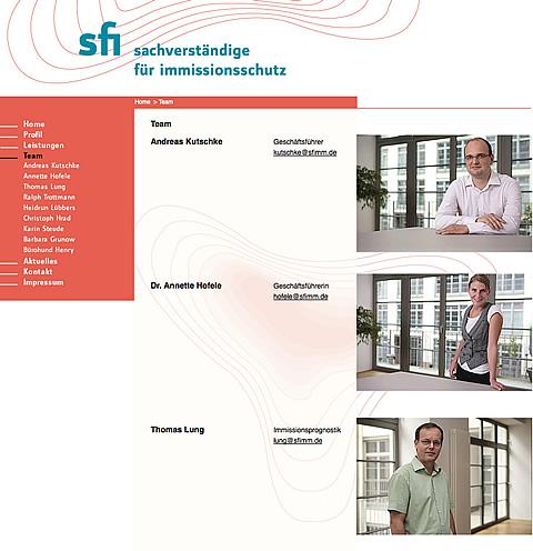 Das Team von SFI