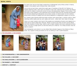 Kindergarten und Primary School in Busia, Kenia