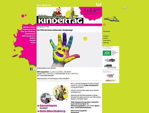 Internationaler kindertag im fez
