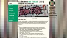 Kulturen im Fokus. Potsdamer Kulturanalysen