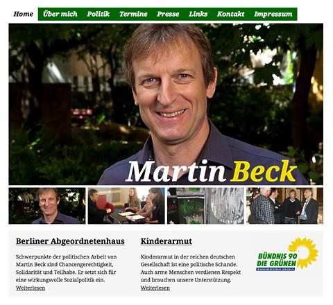 Martin Beck nutzt CMS Drupal