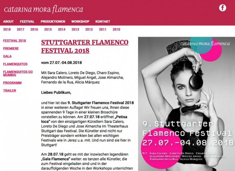 9. Stuttgarter Flamenco Festival 2018
